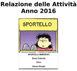 Report Annuale 2016
